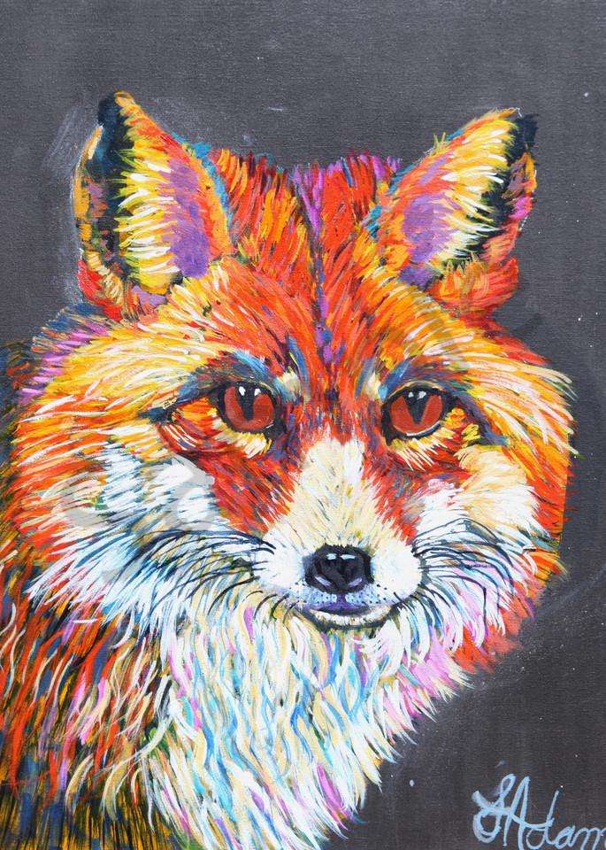 """Little Foxes"" by North Carolina Prophetic Artist Sharon Adams | Prophetics Gallery"