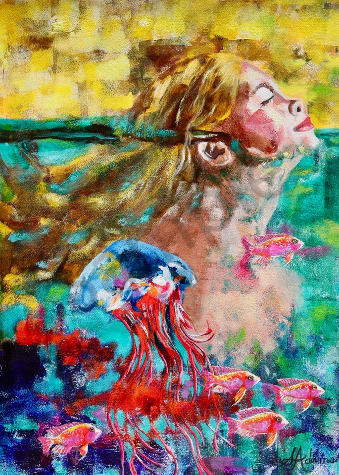 """The River Of Life"" by North Carolina Artist Sharon Adams | Prophetics Gallery"