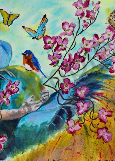 """New Life"" by North Carolina Prophetic Artist Sharon Adams | Prophetics Gallery"