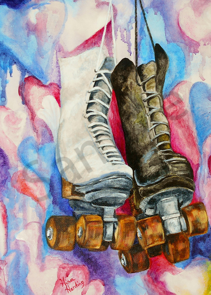 """""""Skate Date"""" by Indiana Prophetic Artist Gina Harding 