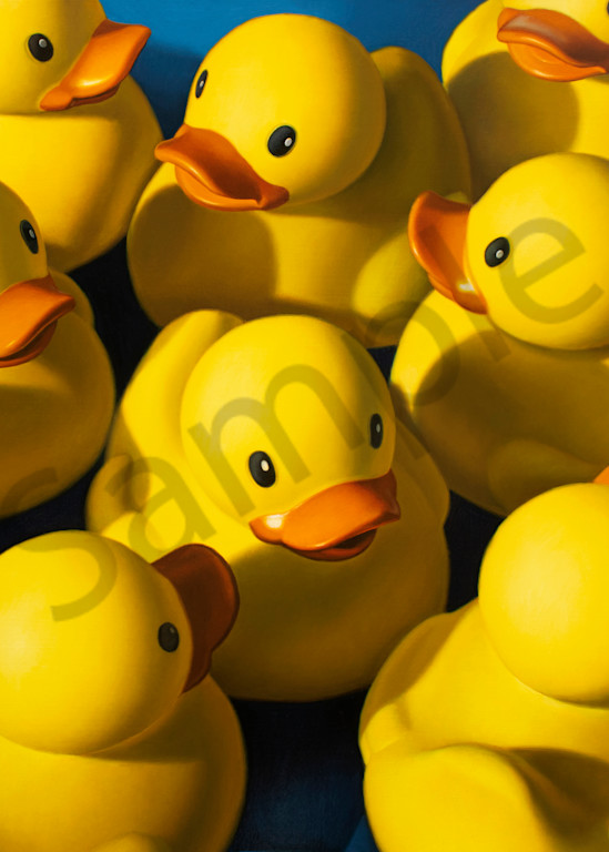 """""""Clusterduck"""" print by Kevin Grass"""