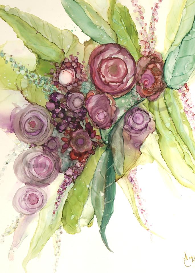 """Flowers"" by Canadian Artist June Corstorphine | Prophetics Gallery"