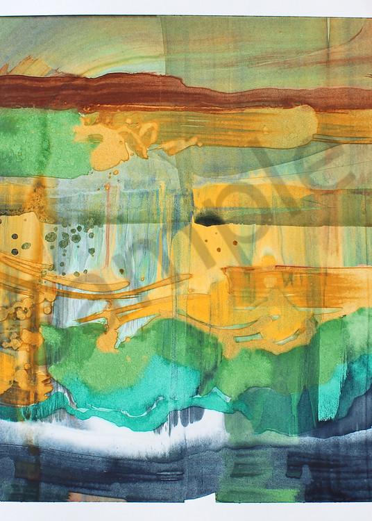 Inside Color | Contemporary Abstract Watercolors | Gordon Meggison IV