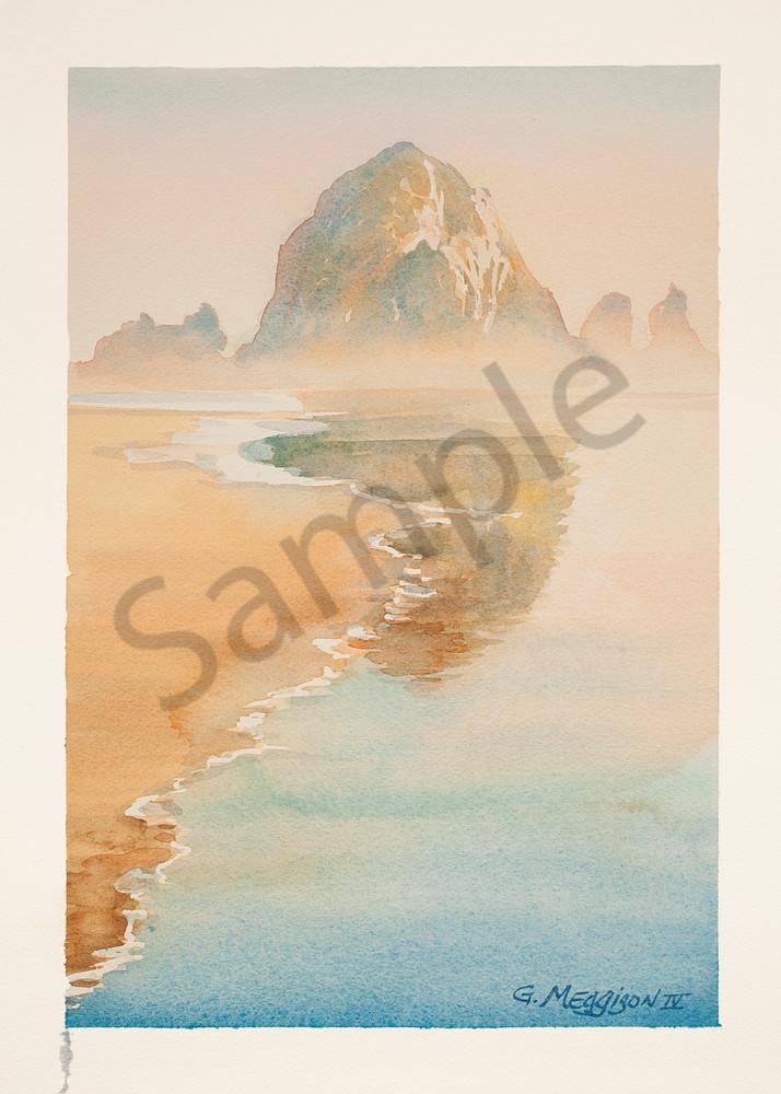 Cannon Beach | Watercolor Landscapes | Gordon Meggison IV
