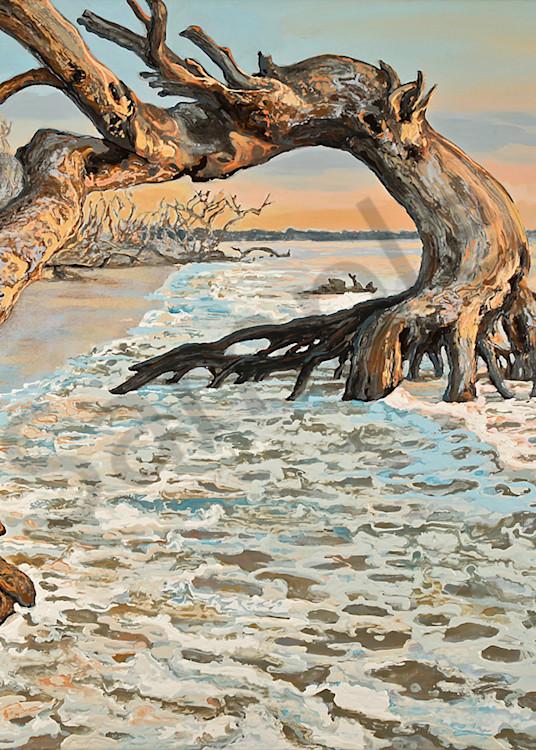 Running Against the Tide | Contemporary Landscapes | Gordon Meggison IV