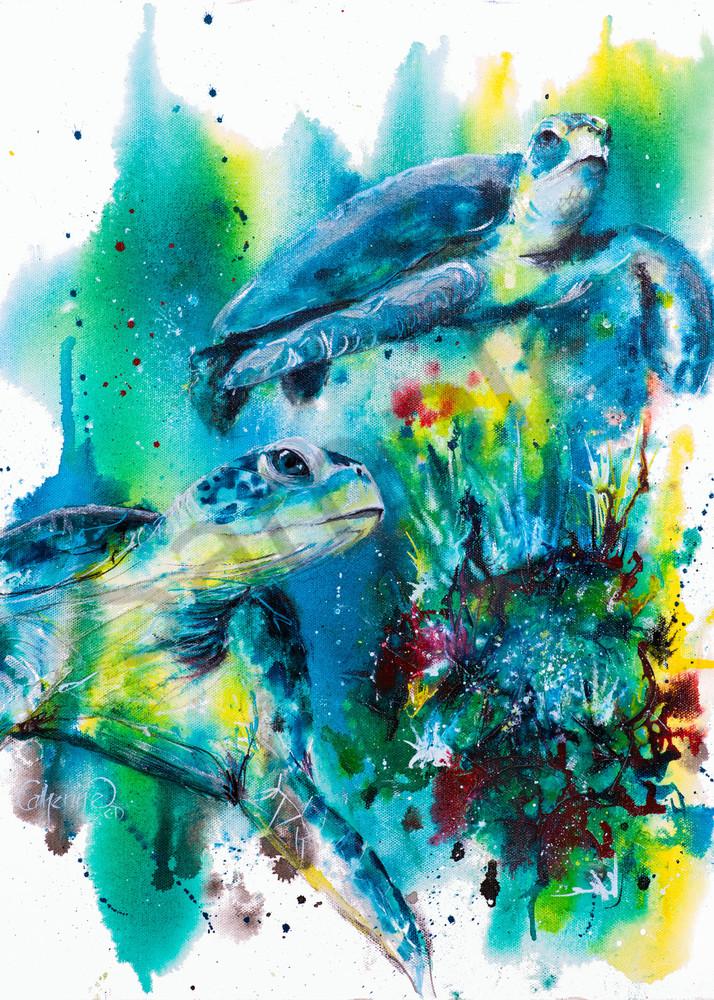 Ink Series - Turtle I
