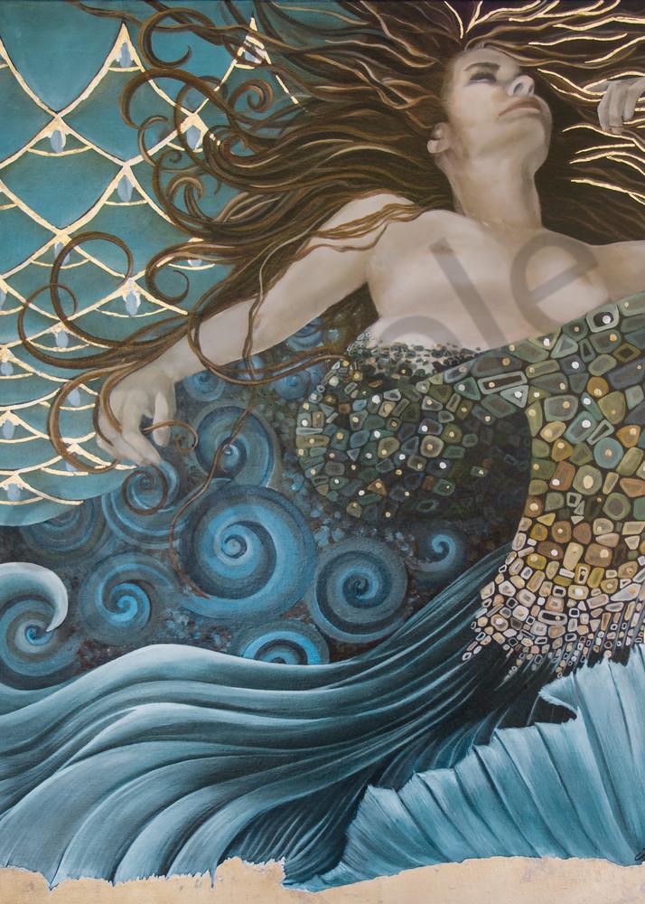Designs by Teri | Teri Vereb Fine Art Paintings | Mermaid | Klimt