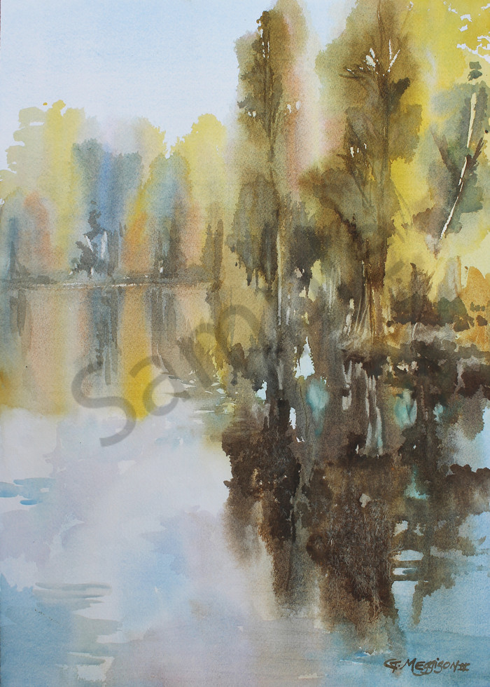 Beluthahatchee | Watercolor Landscapes | Gordon Meggison IV