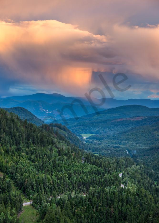 Kootenay Sunset Photography Art | Kokanee Camera and Nelson Fine Art Printing
