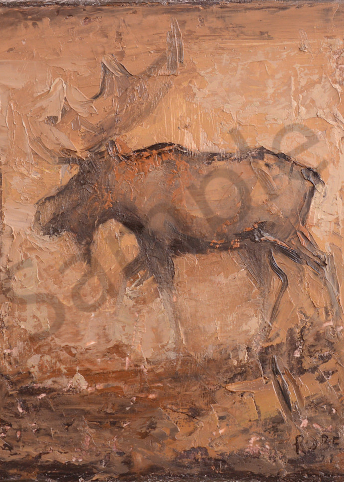 Moose0288 Art | Mary Roberson