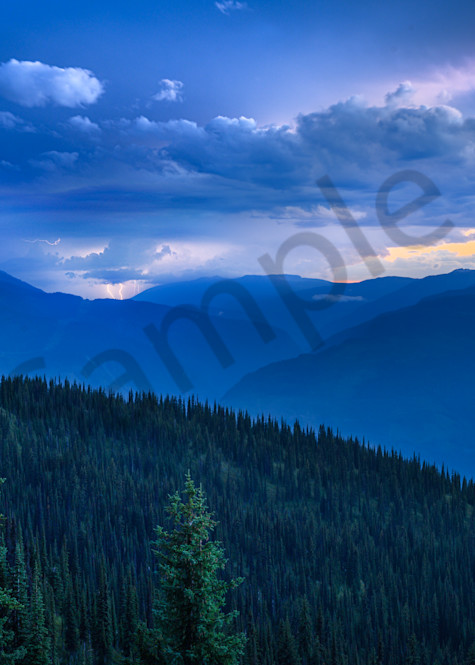 Revelstoke Storm Photography Art | Kokanee Camera and Nelson Fine Art Printing