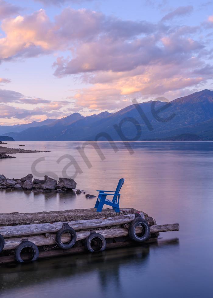 Kootenay Lake Sunset Photography Art | Kokanee Camera and Nelson Fine Art Printing