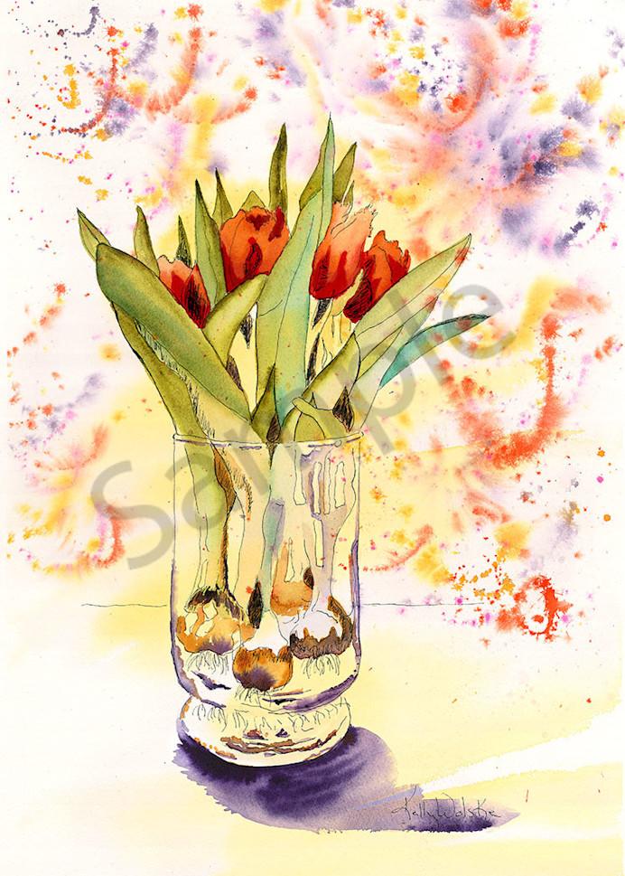 """""""A View Through The Glass"""" fine art print by Kelly Wolske."""