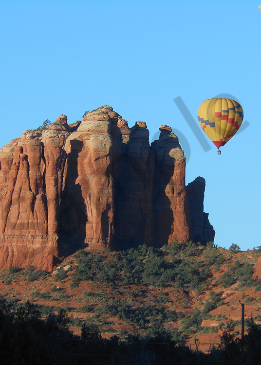 Cathedral Rock Balloon