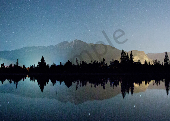 5902 Night Lake Dillon Art | Cunningham Gallery