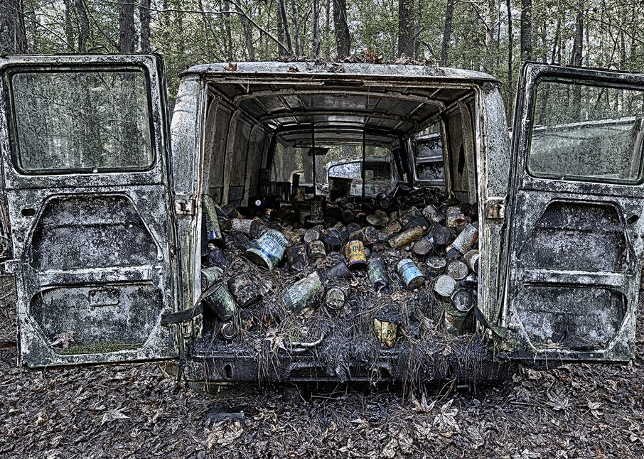 Oil Cans Photography Art | Robert Jones Photography