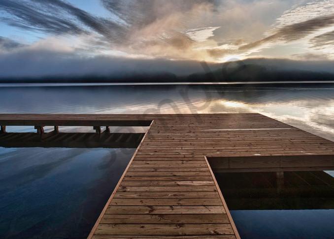 Lake Arrowhead Pier Photography Art | Robert Jones Photography