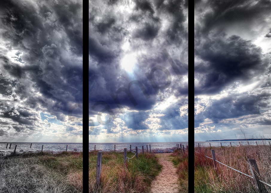 Chesapeake Walk   Trip Tych Photography Art | Robert Jones Photography