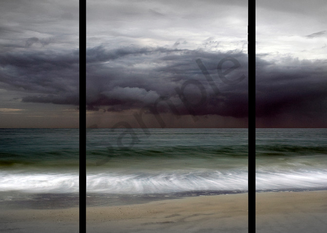 Amelia Island Storm   Trip Tych Photography Art | Robert Jones Photography