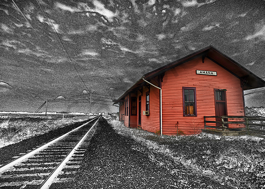 Amana Station Version Ii Photography Art   Robert Jones Photography