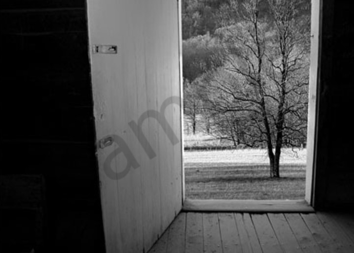 Cades Cove Door No. Ii Photography Art | Robert Jones Photography