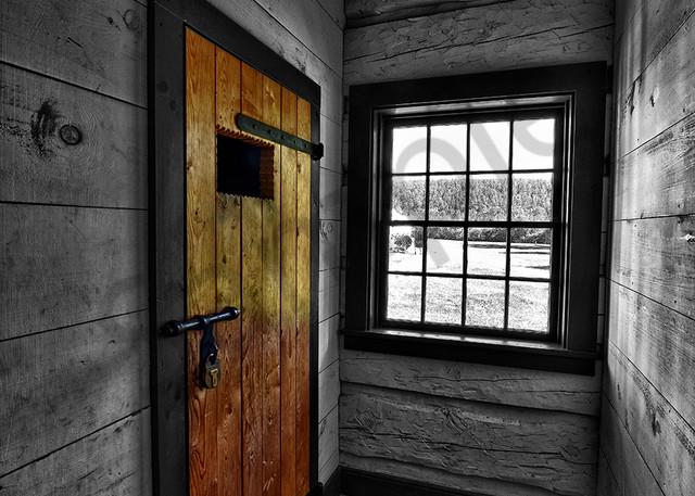Fort Wilkins Stockade Photography Art   Robert Jones Photography