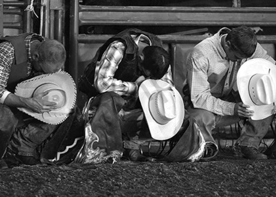 Praying Cowboys Photography Art | Robert Jones Photography