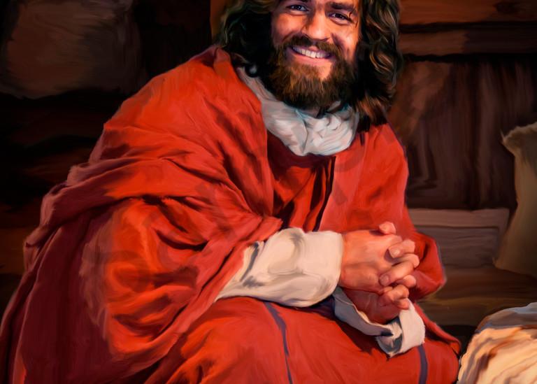 Joyous Jesus in Winter