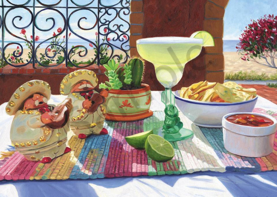 Margarita Still Life Painting