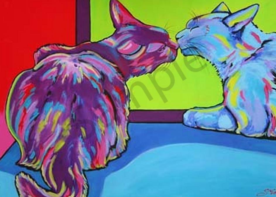 The Kiss Art | Sally C. Evans Fine Art