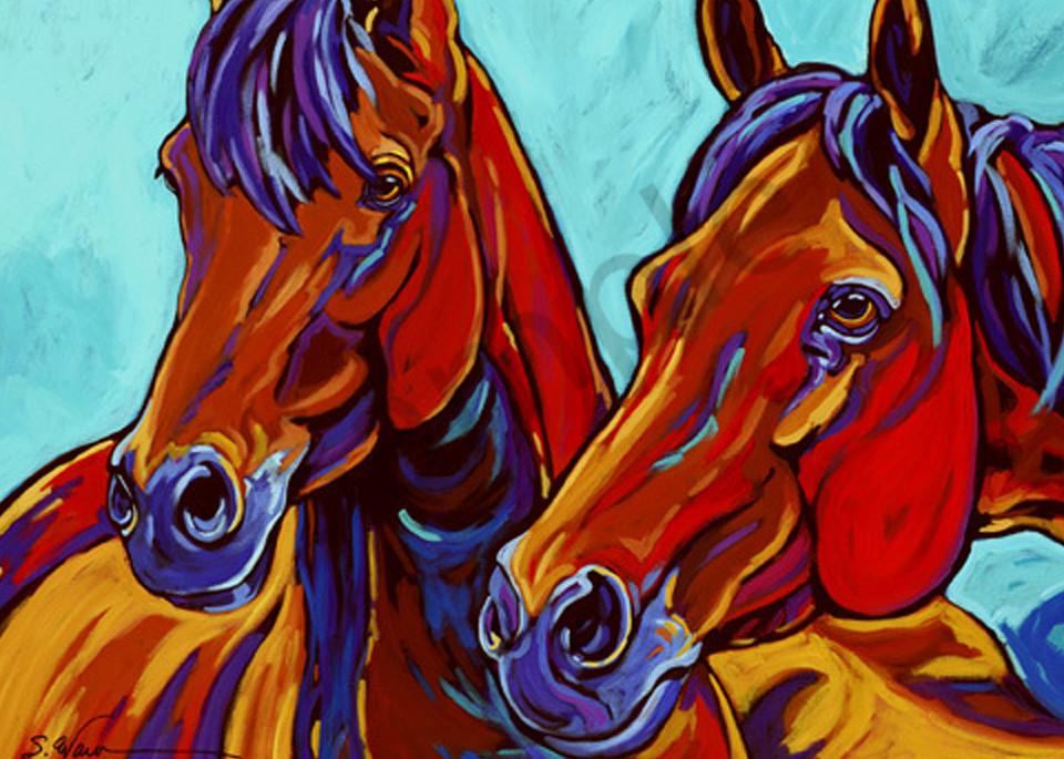 The Wild Ones Art   Sally C. Evans Fine Art