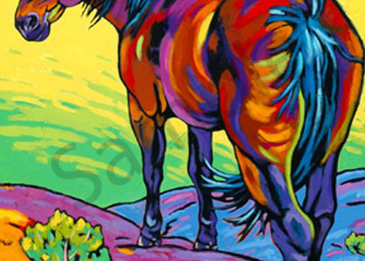 Loner Ii Art | Sally C. Evans Fine Art