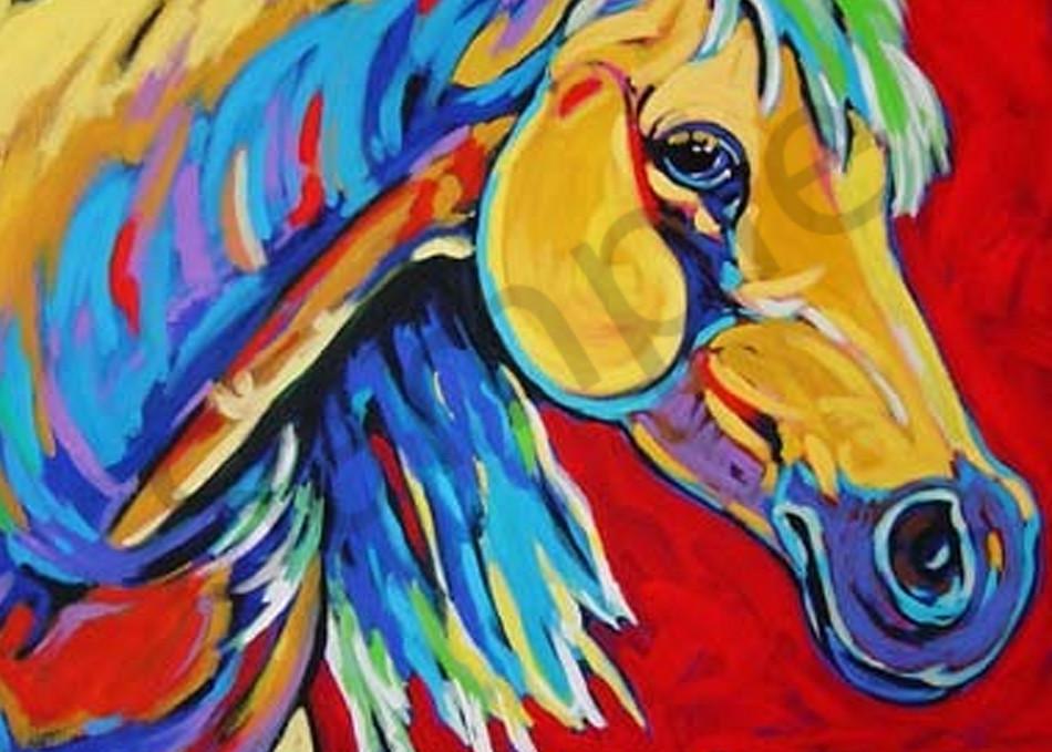 Yellow Horse Art | Sally C. Evans Fine Art