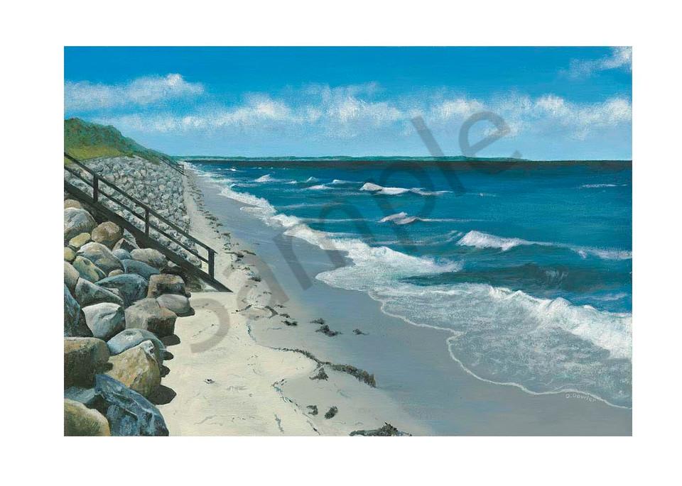 Northside Beach, Dennis Art   Jetart Company