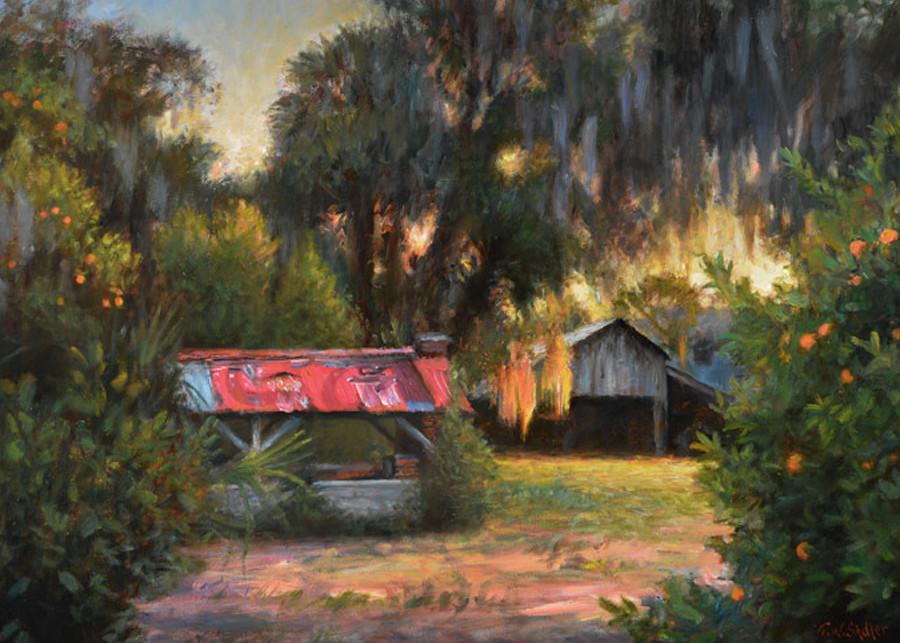 The Old Grove Art | Sally C. Evans Fine Art