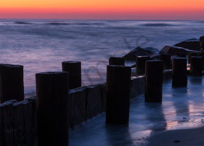 Beach Wall Art: Folly Beach at Dawn