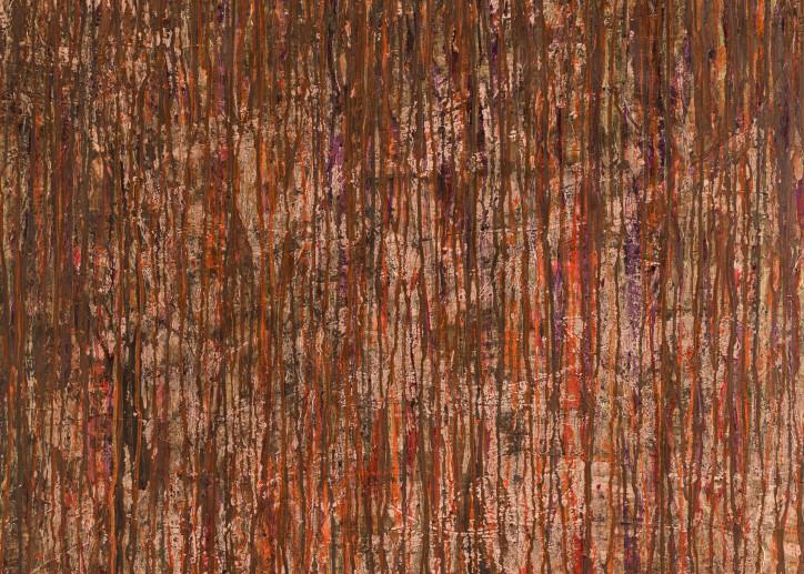 Red Gold Lines Art   Mark Vantress Studios