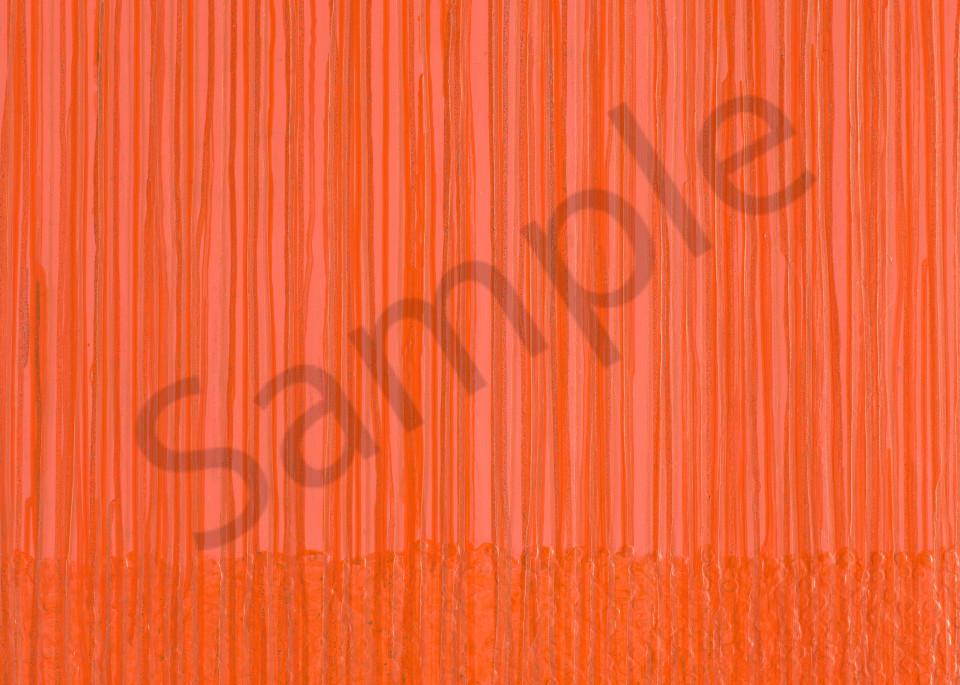 Orange Meditations Art | Mark Vantress Studios