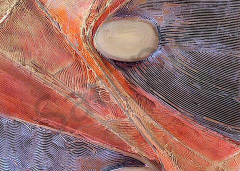 Noble Truths 3 | Abstract Acrylic Mixed Media | Gordon Meggison IV