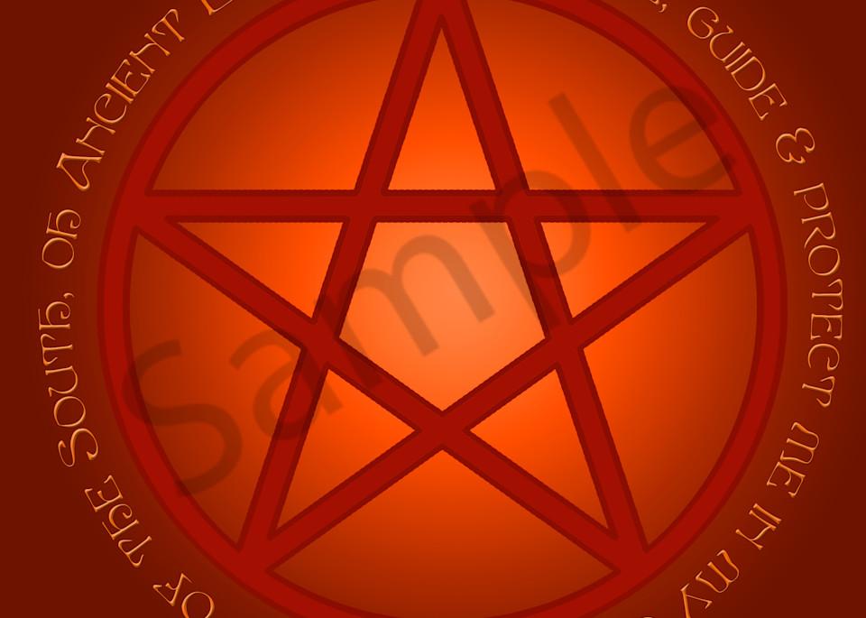 Spirit of Fire Pentacle