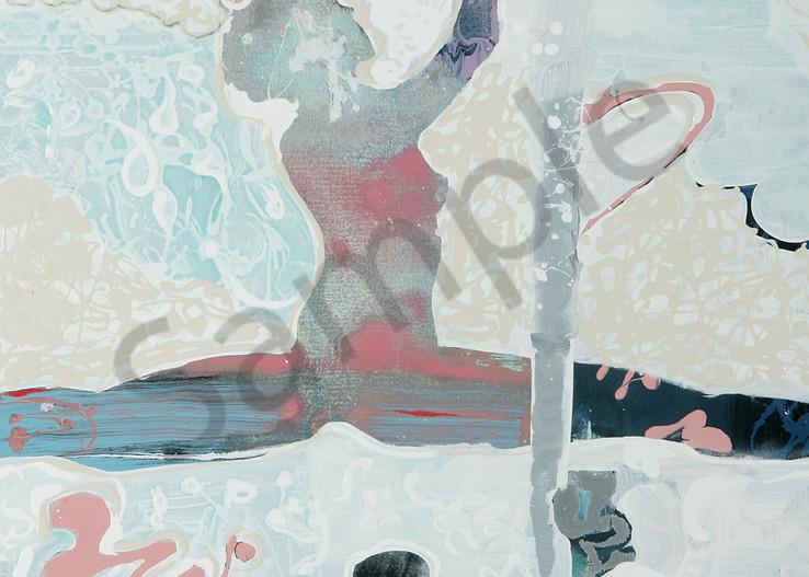 Dance to the End | Abstract Acrylic Mixed Media | Gordon Meggison IV