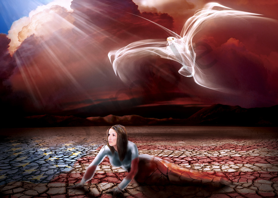"""Arise America"" by Florida artist Ana Mendez Ferrell   Prophetics Gallery"