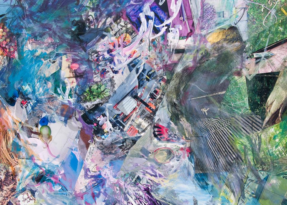 BirdMan on a ledge  - Art for Sale