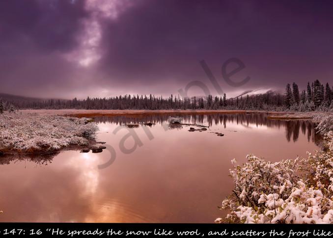 Psalm 147:16 Photo Devotional