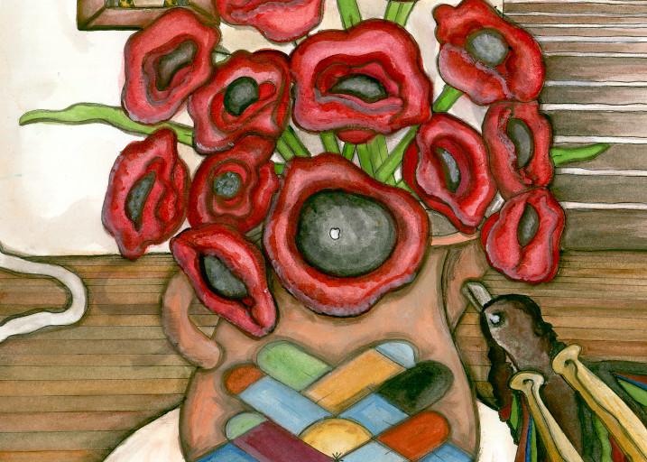 Poppy Raven Art | courtnihale