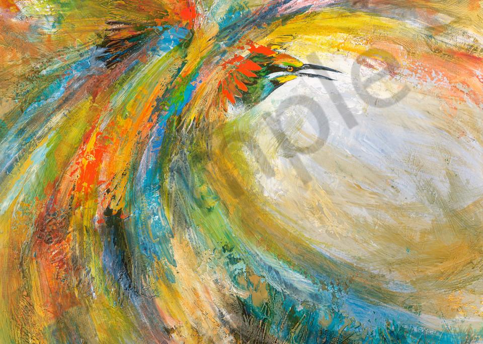 Rainbow Maelstrom by De Gillett