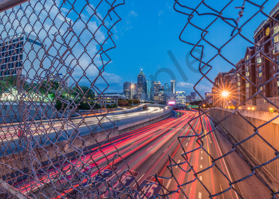 City shot [Atlanta] | Susan J Photography: Shop Prints