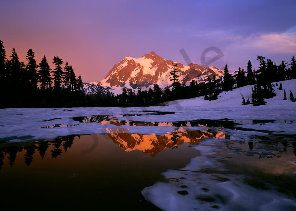 Mt. Shuksan and Picture Lake, North Cascades National Park, Washington