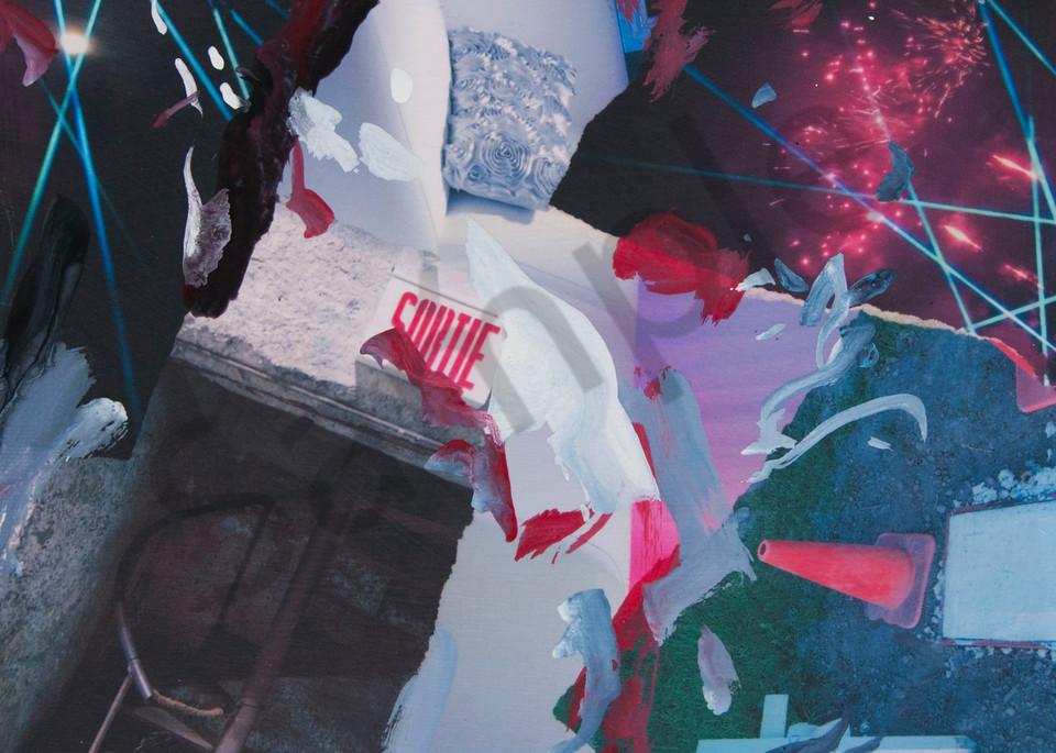Buy Sortie - Partie - High Quality Print of Mixed Media original Dreamscape