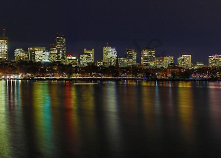 Boston Super Moon Photography Art | John Martell Photography